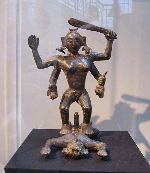 Kali and Shiva