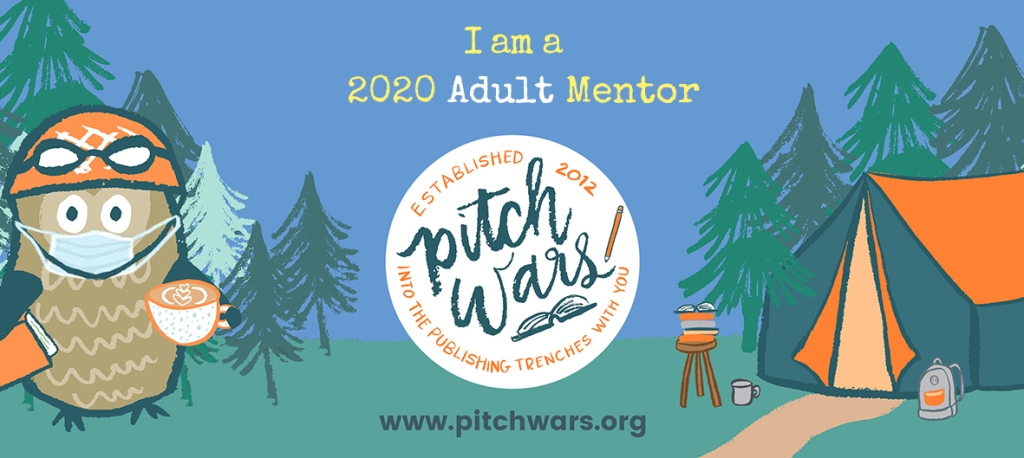 Pitch Wars 2020 Adult Mentor Banner